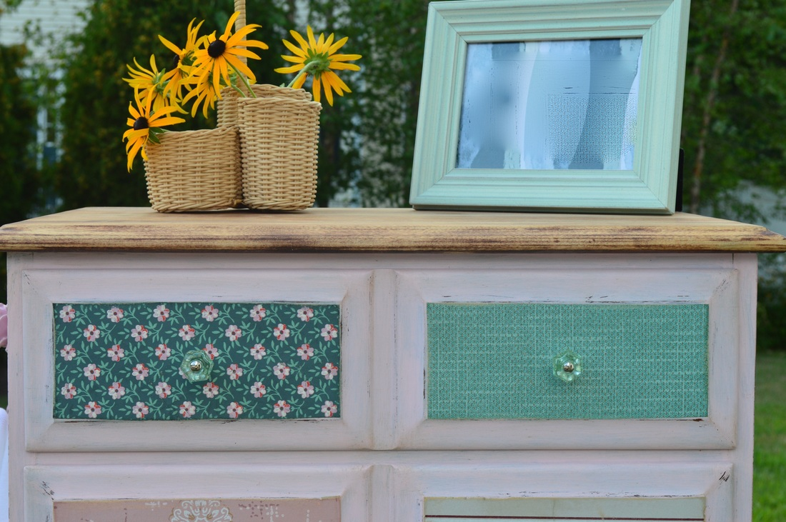 Fancy farmhouse tall chest lilac shack furniture for Fancy farmhouse